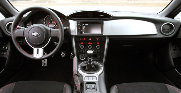 2013 Subaru BRZ interior