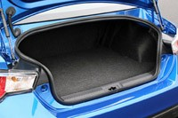 2013 Subaru BRZ trunk