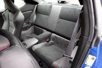 2013 Subaru BRZ rear seats