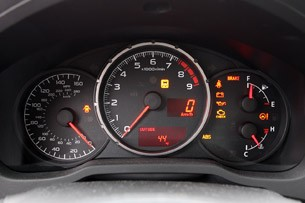 2013 Subaru BRZ gauges