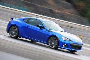 2013 Subaru BRZ front driving