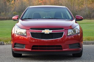 2012 Chevrolet Cruze Eco front view
