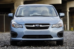 2012 Subaru Impreza front view