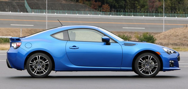2013 Subaru BRZ side view