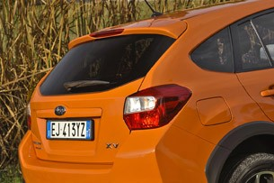 2013 Subaru XV Crosstrek rear detail