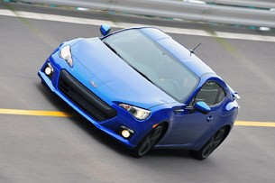 2013 Subaru BRZ driving