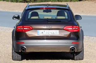 2012 Audi A4 Allroad Quattro rear view
