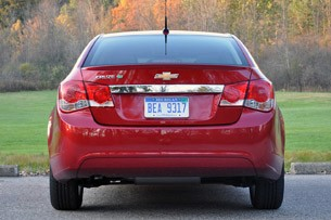 2012 Chevrolet Cruze Eco rear view