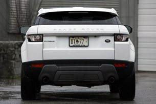 2012 Land Rover Range Rover Evoque Coupe rear view