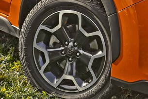 2013 Subaru XV Crosstrek wheel