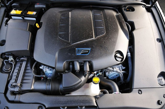2011 Lexus IS F engine