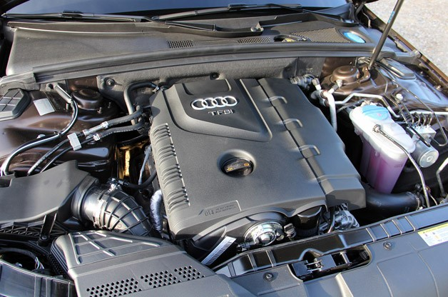 2012 Audi A4 Allroad Quattro engine