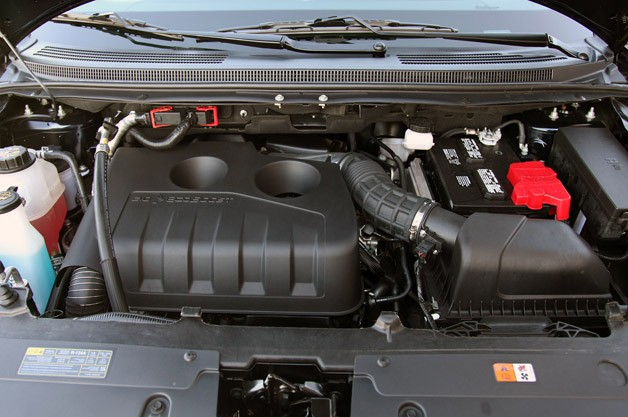 2012 Ford Edge EcoBoost engine
