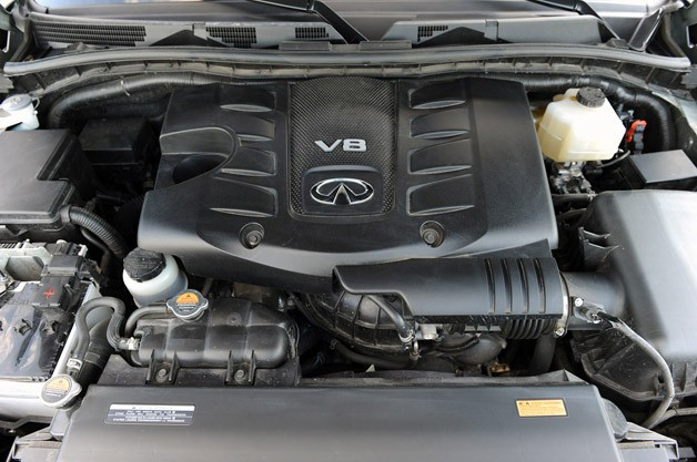 2012 Infiniti QX56 engine
