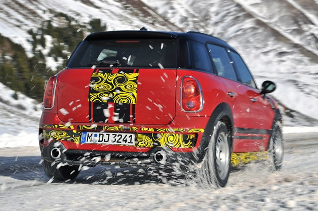 2012 Mini Countryman Cooper S John Cooper Works driving
