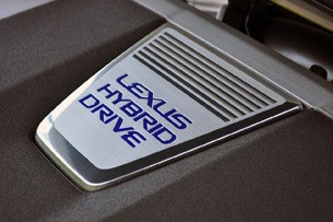 2013 Lexus GS 450h engine detail