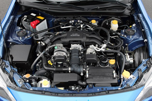2013 Subaru BRZ engine