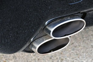 2011 Lexus IS F exhaust tips