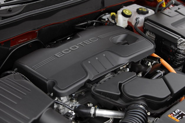 2013 Chevrolet Malibu Eco engine