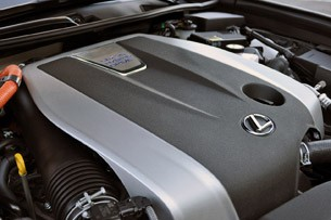 2013 Lexus GS 450he engine