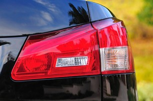 2011 Lexus IS F taillight