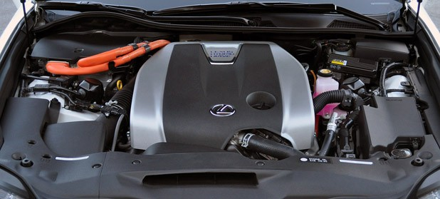 2013 Lexus GS 450h engine