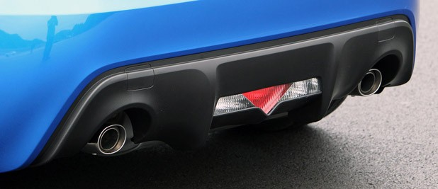 2013 Subaru BRZ diffuser
