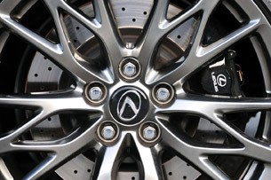 2011 Lexus IS F wheel