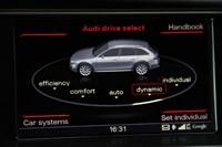 2012 Audi A4 Allroad Quattro drive select display