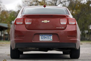 2013 Chevrolet Malibu Eco rear view