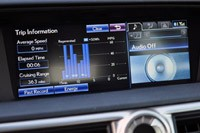 2013 Lexus GS 450h multimedia system display