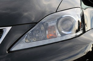 2011 Lexus IS F headlight