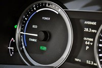 2013 Lexus GS 450h gauges