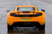 McLaren MP4-12C at Top Gear Test Track