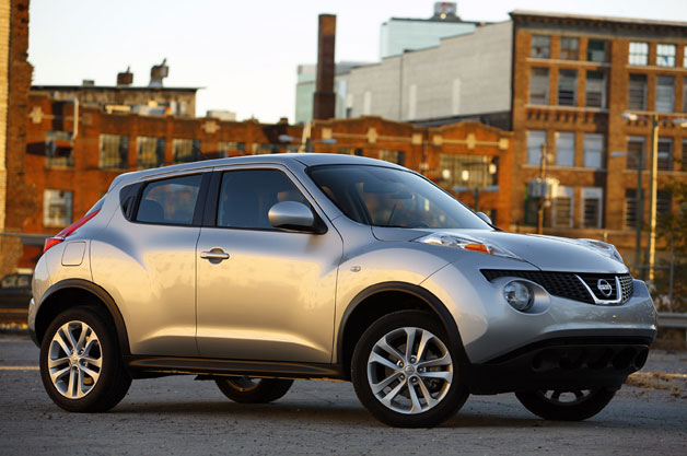 2011 Nissan Juke in silver