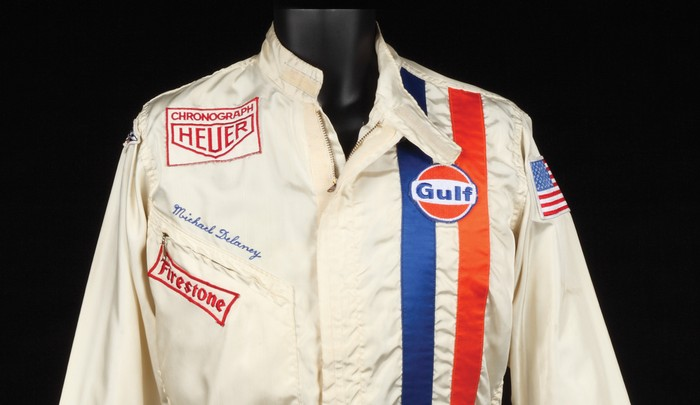 Steve McQueen's Le Mans driving suit