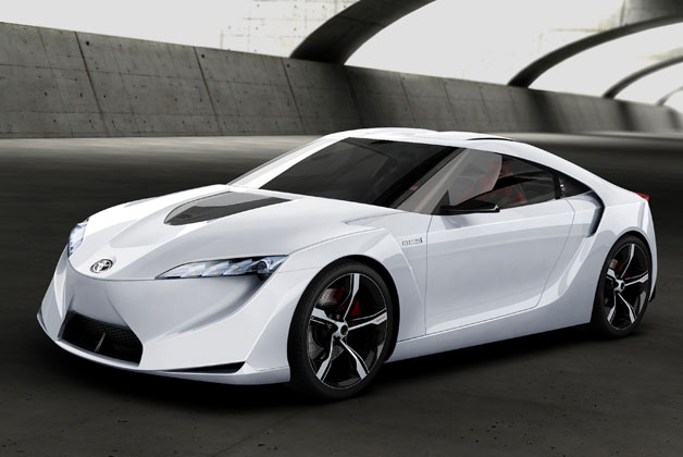 Toyota FT-HS concept car - front three-quarter view