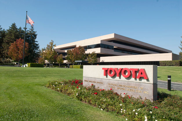 Toyota campus in Torrence, California