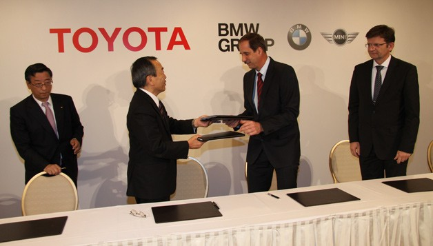 Toyota BMW MOU