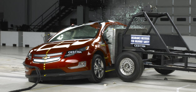 Chevy Volt crash test