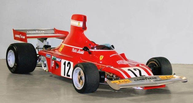weblauda 312b3 eBay Find of the Day: Niki Laudas race winning 1974 Ferrari 312 B3