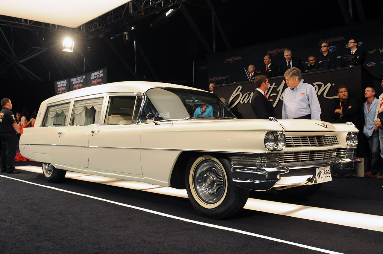 1964 Cadillac Jfk Hearse Barrett Jackson 2012 Photo