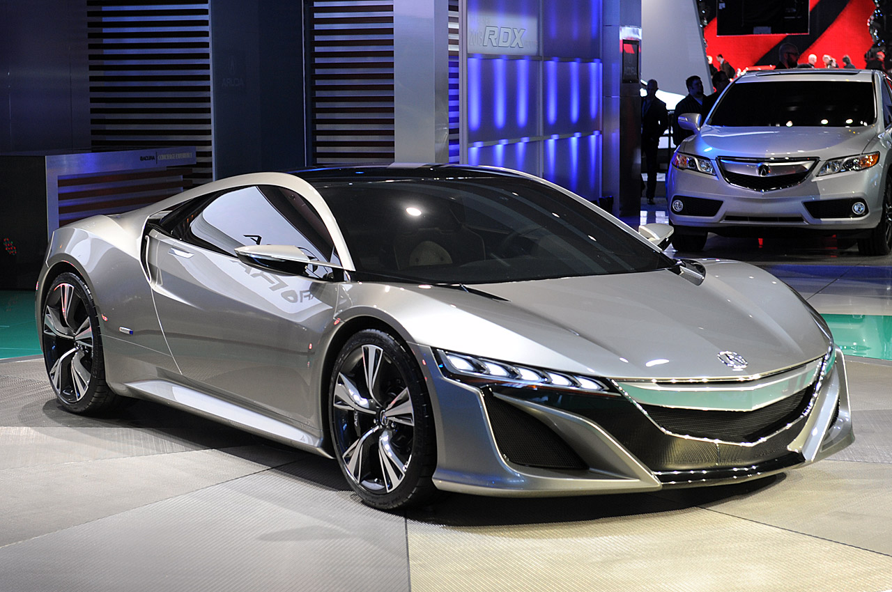 acura nsx concept portends an efficient hybrid supercar autoblog. Black Bedroom Furniture Sets. Home Design Ideas