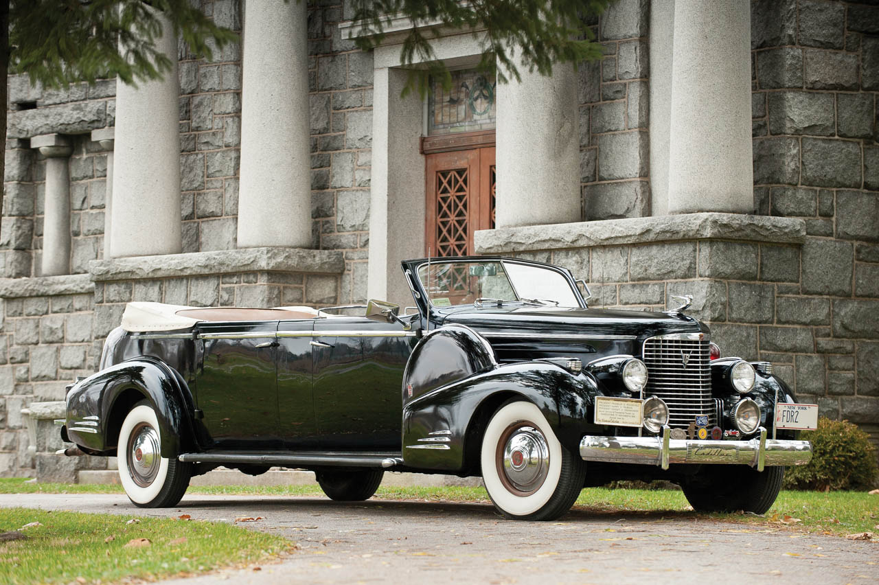 1938 Cadillac V16 Convertible Parades From White House To