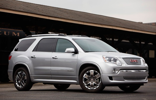 Next Gmc Acadia To Debut At Chicago Auto Show