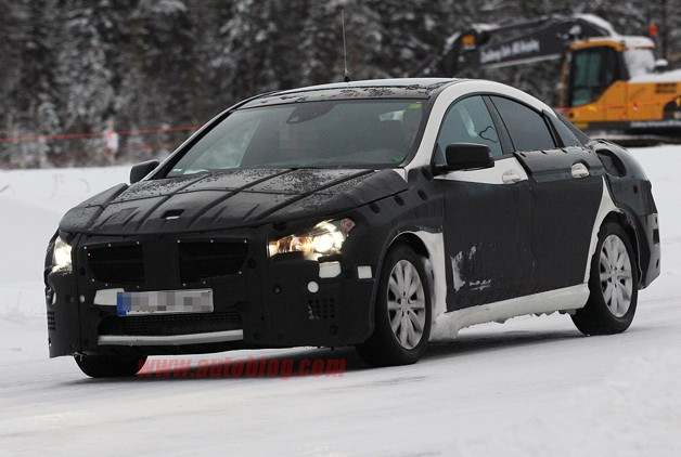 Mercedes-Benz CLC Spy Shots