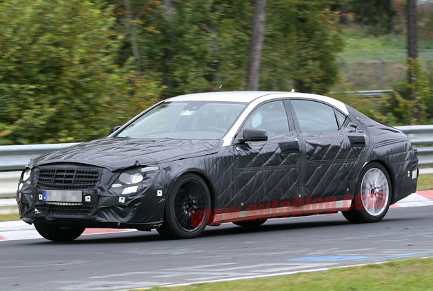 2014 Mercedes-Benz S-Class spy shot