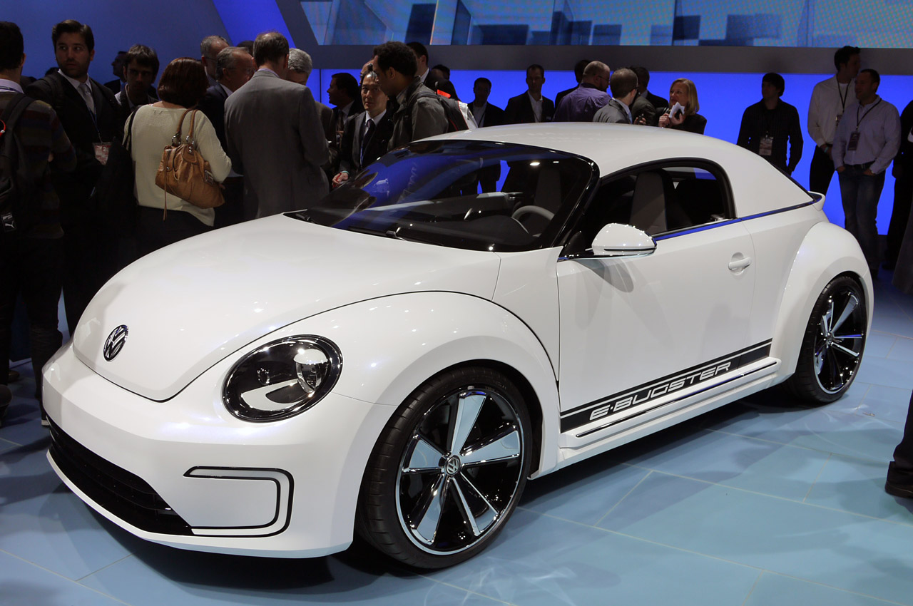 Volkswagen E-Bugster Concept electric slides into Detroit ...