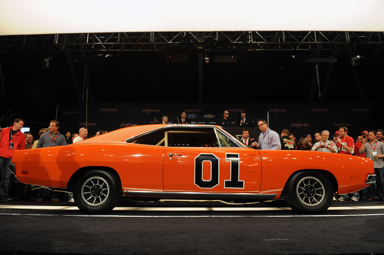 Barrett Jackson 2012 Dukes Of Hazzard 1969 Dodge Charger