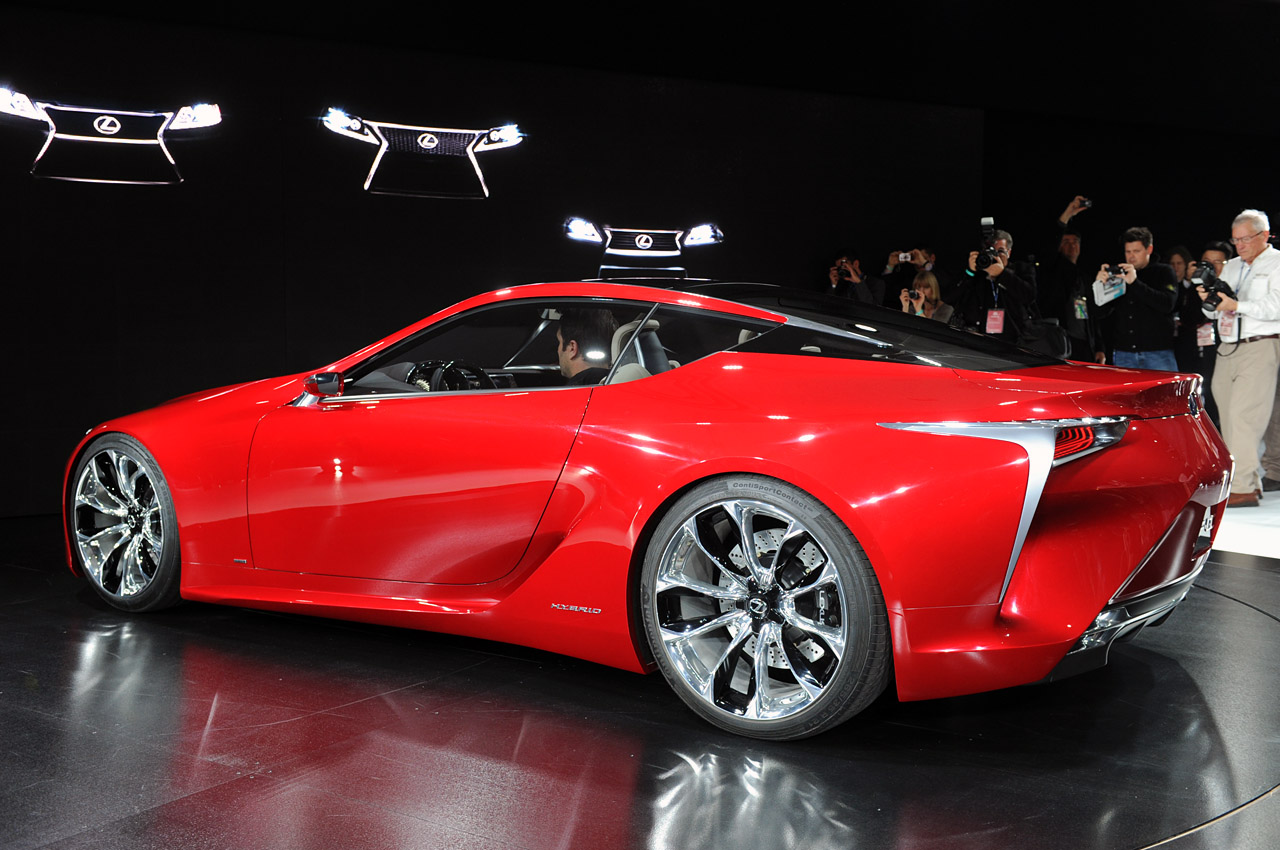 Lexus Lf Lc Approved For Production Autoblog